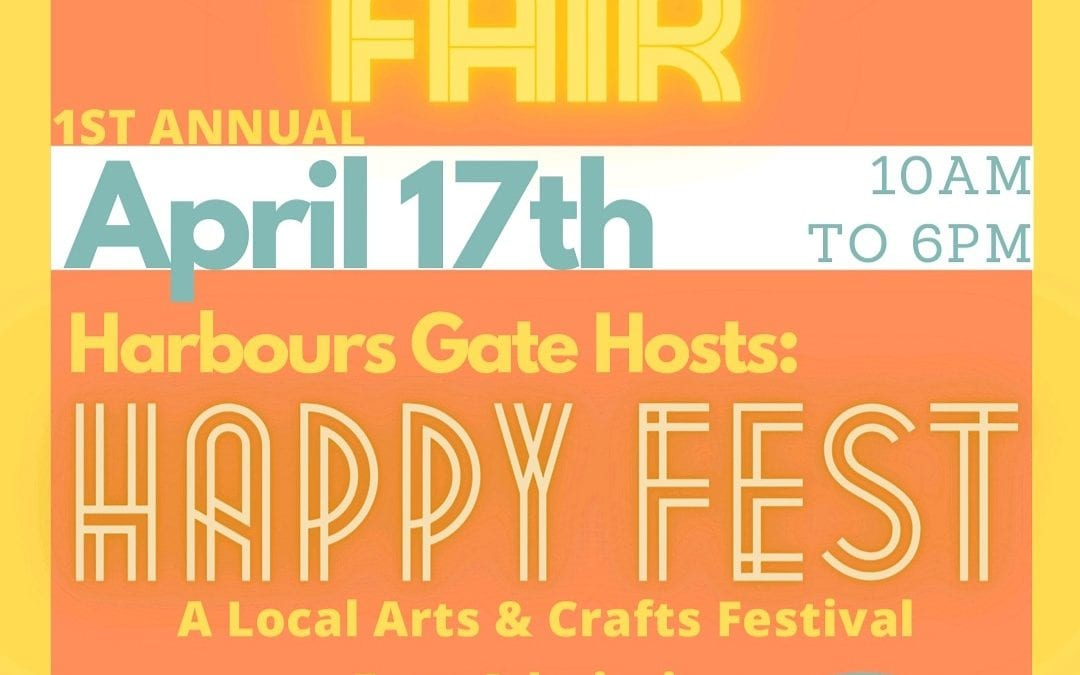 Happy Fest: A Local Arts & Crafts Festival